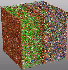 Hall-Petch, low angle grain boundary, dislocation dynamics, discrete dislocation dynamics, paradis, mechanics, dislocation mechanics, glide, junction, reaction