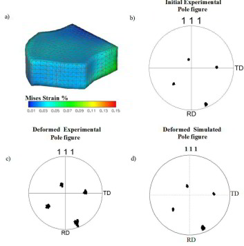 Plastic Deformation of an Aluminum Oligocrystals studied in 3D at the Grain Scale using Digital Image Correlation and Crystal Plasticity FEM