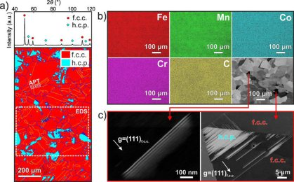 Microstructure and elemental distribution in the as-homogenized coarse-grained interstitial high entropy alloy iHEA: Scientific Reports volume 7, Article number: 40704 (2017) doi:10.1038/srep40704