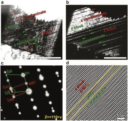 Bidirectional Transformation Enables Hierarchical Nanolaminate Dual-Phase High-Entropy Alloys