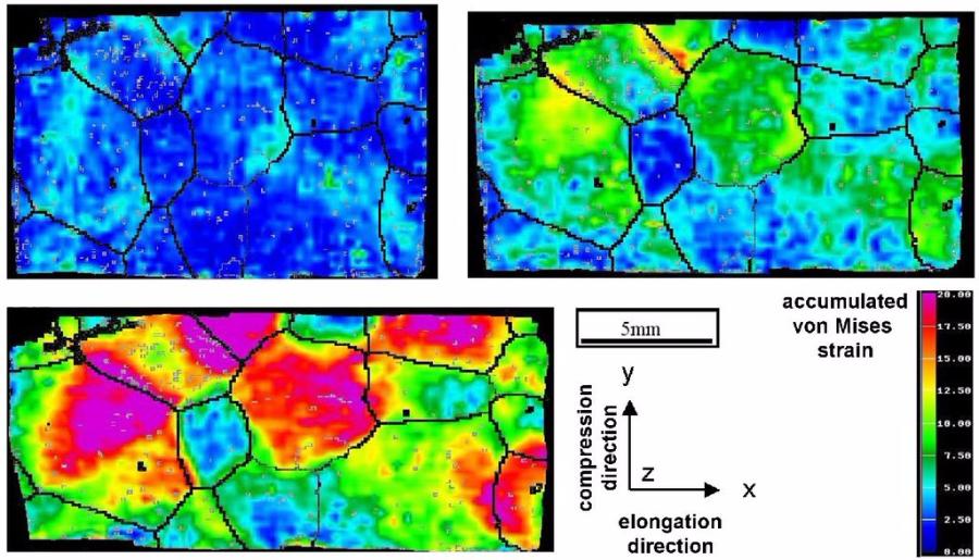 Digital Image Correlation Dic Strain Map Mechanics Deformation